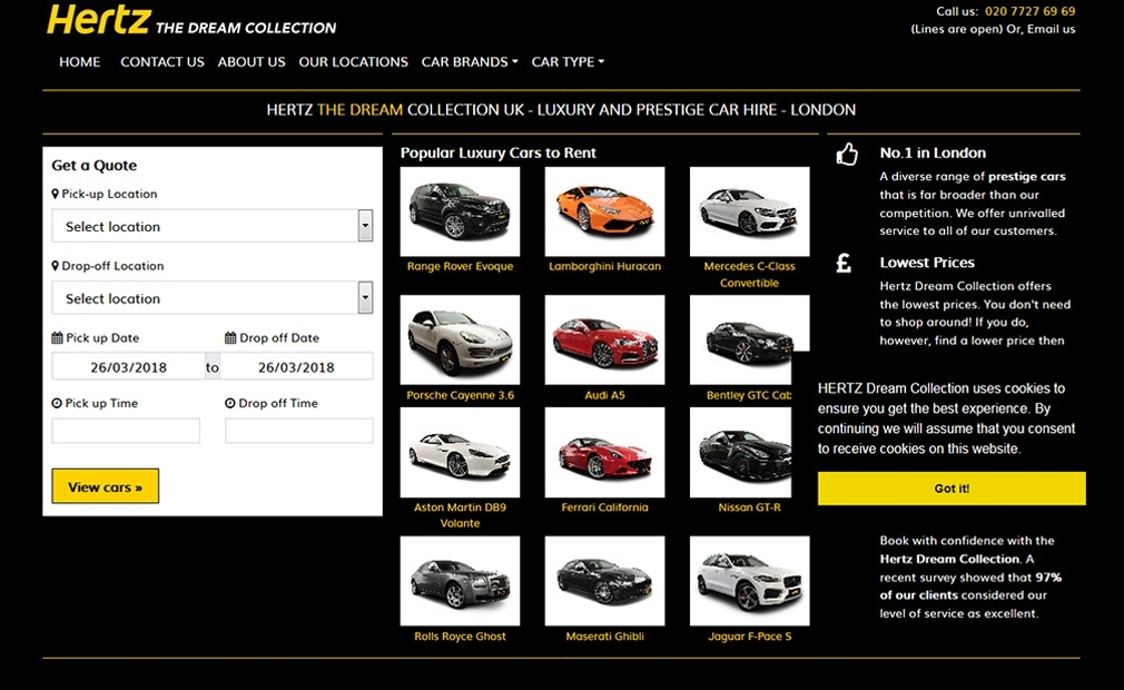 Hertz the dream collection